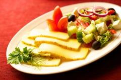 таблица еды вкусная Стоковая Фотография RF