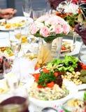 таблица еды свежая вкусная Стоковое Фото