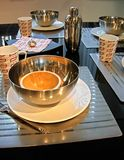 таблица завтрака Стоковое фото RF