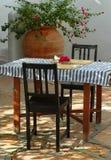 таблица завтрака Стоковое Изображение RF