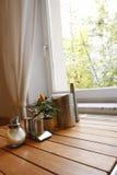 таблица завтрака Стоковые Фотографии RF