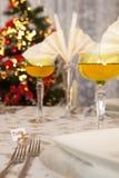 таблица золота рождества 7 Стоковая Фотография