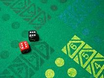 таблица игры плашек Стоковые Фото