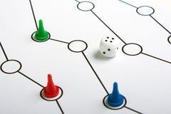 таблица игры Стоковые Фото