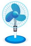 таблица иллюстрации вентилятора Стоковые Фото