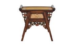 таблица китайского типа деревянная Стоковые Изображения RF