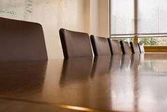 таблица конференц-зала Стоковые Фото