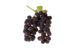 таблица красного цвета виноградин Стоковое Изображение RF