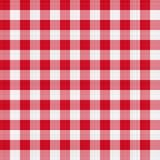 таблица красного цвета ткани стоковые изображения rf