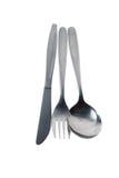 таблица ложки ножа вилки Стоковое Изображение RF