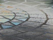 таблица мозаики стоковое изображение rf