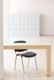 таблица офиса стула Стоковые Изображения RF