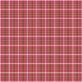таблица пикника ткани реальная Стоковое Фото