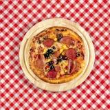 таблица пиццы Стоковые Изображения
