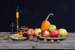 таблица плодоовощ Стоковое Фото