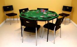 таблица покера Стоковая Фотография RF