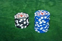 таблица покера Стоковое Изображение RF