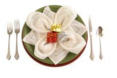 таблица праздника декора Стоковое Фото