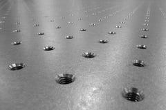 таблица предпосылки оптически стальная Стоковая Фотография RF