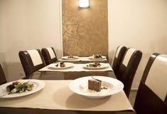 таблица ресторана Стоковое Фото