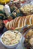 таблица рождества польская Стоковая Фотография RF