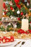 таблица рождества Стоковые Фото