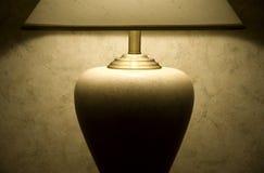 таблица светильника светлая мягкая Стоковое Изображение RF