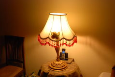 таблица светильника Стоковые Фото