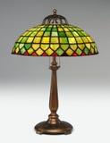 таблица светильника tiffany Стоковое Изображение