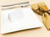 таблица сервировки Стоковые Изображения RF