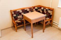 таблица софы кухни Стоковая Фотография