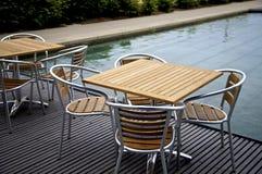 таблица стула стоковая фотография rf