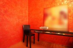 таблица стула Стоковая Фотография