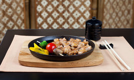 таблица установки японского места обеда готовая Стоковые Изображения RF