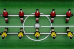 таблица футбольной игры стоковые фото