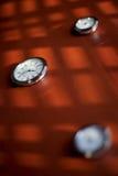таблица часов Стоковые Фотографии RF