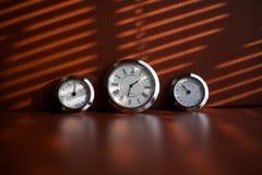 таблица часов Стоковое Изображение RF