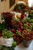таблица 3 плодоовощей Стоковые Фото