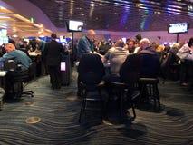 Таблицы блэкджека на казино Стоковые Изображения RF