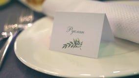 Таблицы на банкете свадьбы Украшения свадьбы r видеоматериал