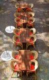 таблицы ресторана Стоковые Изображения RF