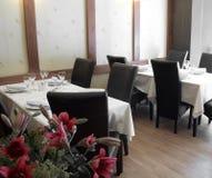 таблицы ресторана Стоковое Изображение