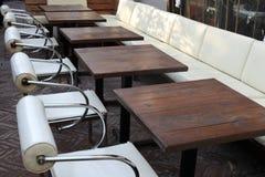 таблицы стулов Стоковая Фотография RF