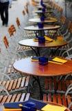 таблицы стулов Стоковая Фотография