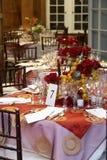 таблицы wedding Стоковые Изображения