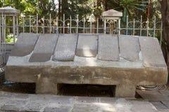 Таблетка амхарского языка каменная Стоковое Изображение