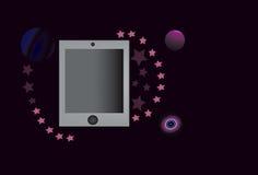 Таблетка космоса Стоковая Фотография RF