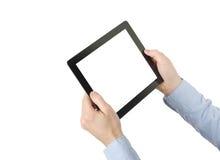 таблетка экрана икон компьютера установленная Стоковые Фотографии RF
