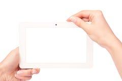 таблетка экрана икон компьютера установленная Стоковые Фото