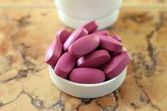 Таблетки. Витамины. Пищевая добавка Стоковые Изображения
